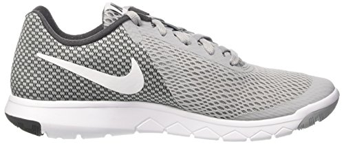 Nike Wmns Flex Experience Rn 6, Sneakers para Mujer Gris (Wolf Grey/white/anthracite/white)