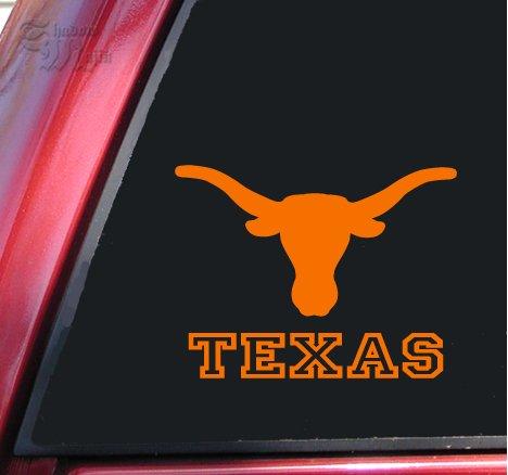 Texas Longhorn Ut Vinyl Decal Sticker 6 X 4 6