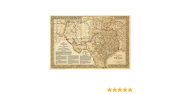 The Great Texas Cattle Trails~Chisholm~Western~Goodnight-Loving 2nd on