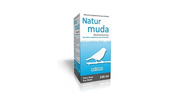 Amazon.com : Avizoon Natur Muda 100ml, (for a perfect moult in cage birds) : Pet Supplies