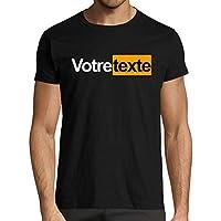 T shirt homme personnalisable avec votre texte idée cadeau humour