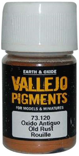 - Vallejo Earth and Oxide Pigments, Old Rust
