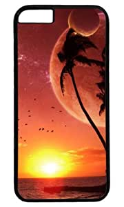 A Warm Sunset by the Sea DIY Hard Shell White Best Fashion iphone 6 plus Case
