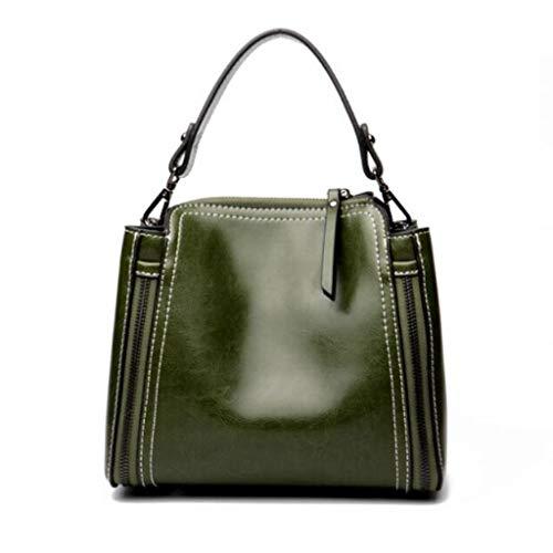 Size La De Viaje Bolso Las Brown Señoras Compras Moda Color Del One w141pqFYx