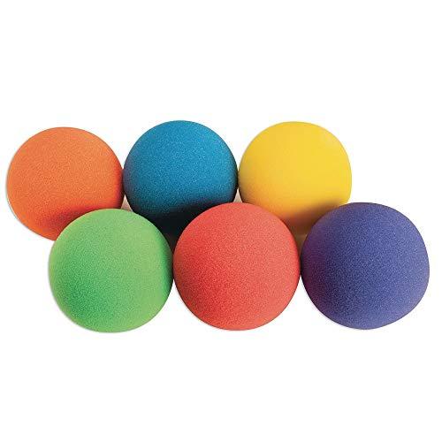 S&S Worldwide W12979 Spectrum Light Foam Ball Set, 7