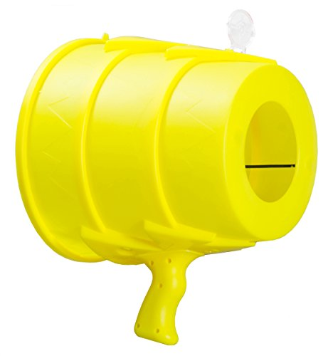 Airzooka Air Blaster- Blows 'Em Away - Air Toy for Adults and Children Ages 6 and Older - Yellow (Air Blast)