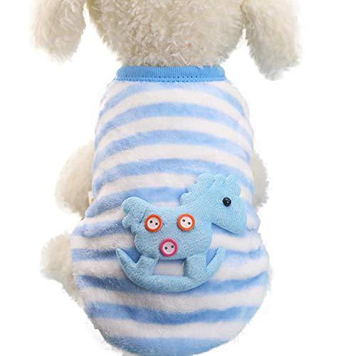 Duseedik Pet Coats, Small Puppy Shirt Soft Pet Cat Cute Dog Puppy Clothing Sweater