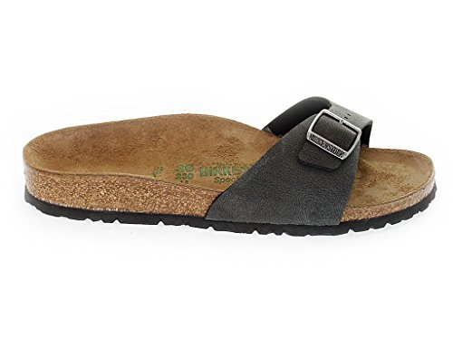 BIRKENSTOCK mod. MADRID (39, BRUSHED BLACK)
