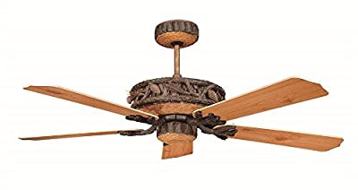 Concord 52PD5OWL Ceiling Fans, Old World Leather Finish
