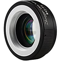 ZHONGYI Turbo II Focal Reduce Light Intensify Lens Adapter Suitable for Lenses with M42 Mount for Camera Fuji Pro1 X-E1 X-E2 X-M1 X-A2 X-A1 X-T1