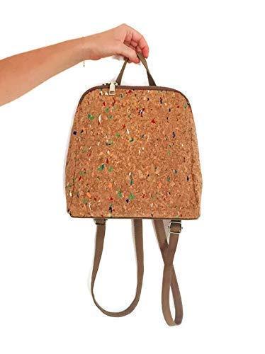 Idée Cadeau Amazon idée cadeau : sac à dos en liège bohème pour un effet nature et