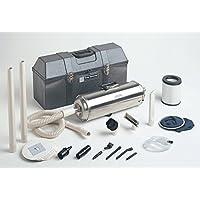 Terra Universal 5100-00 MicroVac Portable Cleanroom Vacuum Cleaner, 120V, 7 Diameter, 22.5 Length, Stainless Steel