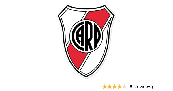 Amazon.com: CA River Plate - Argentina Football Soccer Futbol - Car Sticker - 5