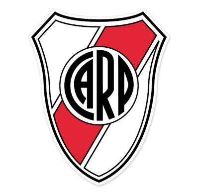 Soccer River Plate - CA River Plate - Argentina Football Soccer Futbol - Car Sticker - 5