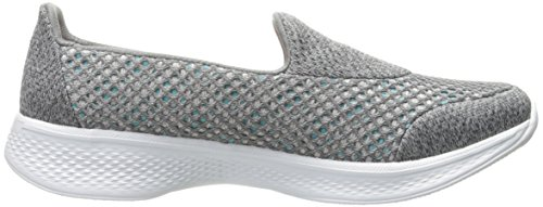 Kindle Walk Skechers Femme Grey gry Go Basses 4 7O7tqwg6nP