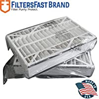 FiltersFast Compatible Replacement for Trion Air Bear Furnace Filter MERV 13 2-Pack 16 x 25 x 5 (Actual size: 15 3/4 x 24 1/4 x 4 3/4