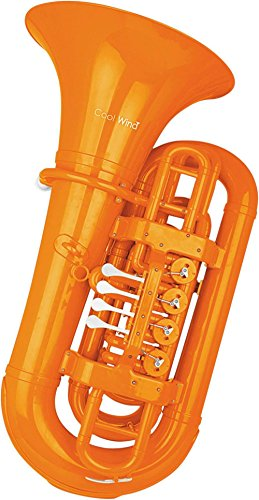 Cool Wind CTU-200 Series 4-Valve BBb Tuba Orange