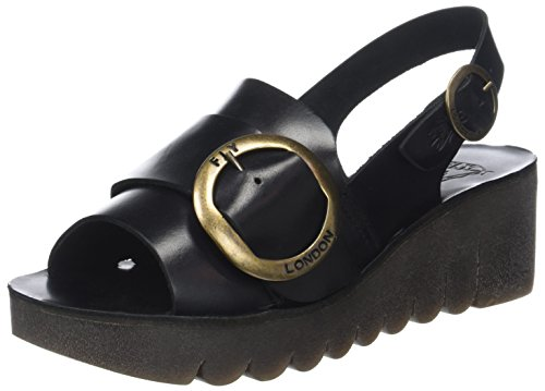 Fly London Women's Yidi190fly Open Toe Sandals Black (Black) for sale cheap price from china discount tumblr official online QvCncc