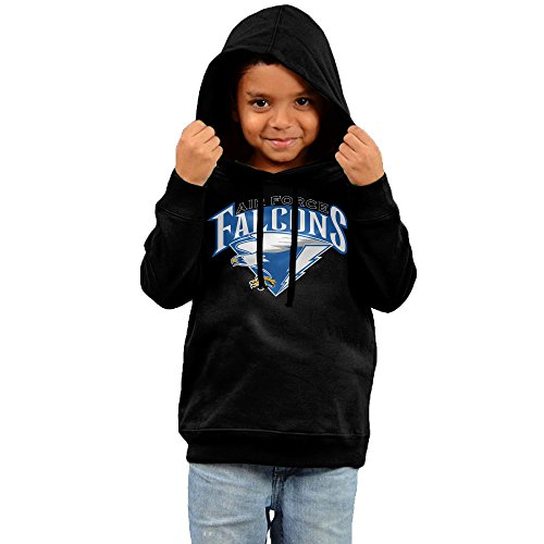FGFD Infant Air Force Academy Boy's & Girl's Hooded Sweatshirt Black Size 4 Toddler