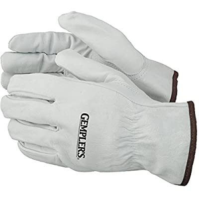 Gempler'S Premium Goatskin Leather Driver'S Gloves, 1 Pair – Abrasion-Resistant Unlined Durable Protective Driving Gloves With Keystone Thumb & Shirred Wrist