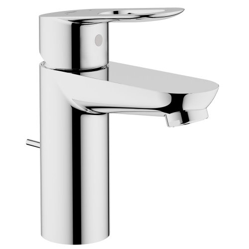 Grohe Single Handle Faucets - Grohe 23084000 BauLoop Single-handle Bathroom Faucet