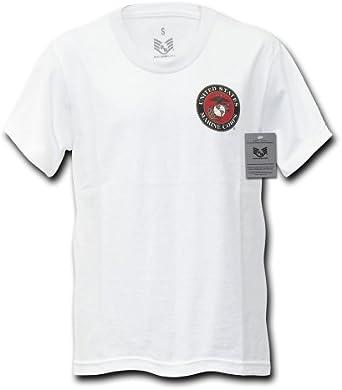 Marines Rapiddominance Emblema Militar básico Camiseta, Hombre ...