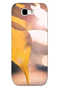 Hot New Sunlit Leaves Case Cover For Galaxy Note 2 With Perfect Design