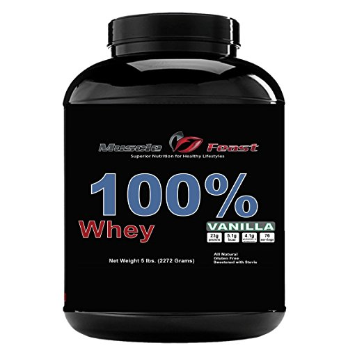 Muscle Feast 100 Whey Vanilla product image