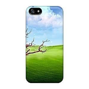 Iphone 5/5s Case Slim [ultra Fit] Fantasy Landscape Protective Case Cover