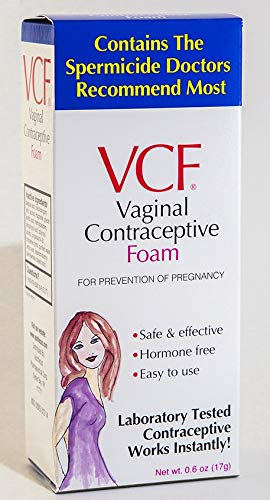 VCF Vaginal Contraceptive Foam 0.60 oz (Pack of 4) by VCF