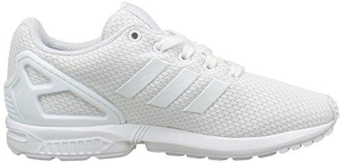 Niños footwear footwear White Para 0 White Blanco Adidas Zx Zapatillas Flux qw8xAIY