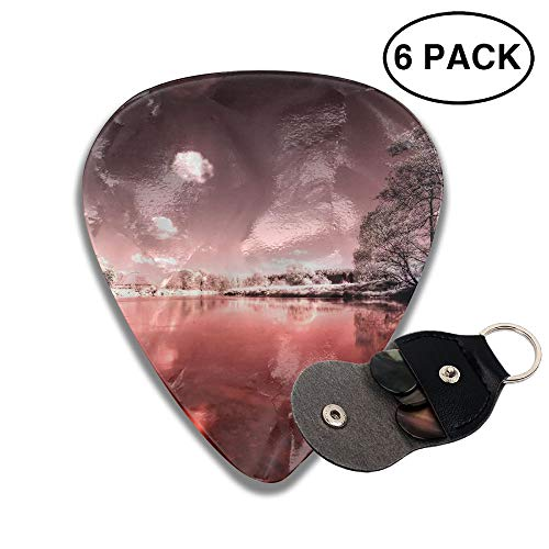 Colby Keats Guitar Picks Plectrums Bloody River Classic Electric Celluloid Acoustic for Bass Mandolin Ukulele 6 Pack 3 Sizes .96mm (Best Electric Bikes Denver)
