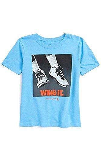 Jordan Nike Boys Wing It T-Shirt (Large)