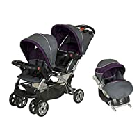 Baby Trend Sit N Stand Double Travel System Stroller & Car Seat - Elixer