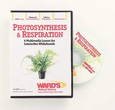 - 54-6406V - Description : Photosynthesis and Respiration Interactive Lesson - Interactive Whiteboard Science Lessons: Photosynthesis and Respiration - Each