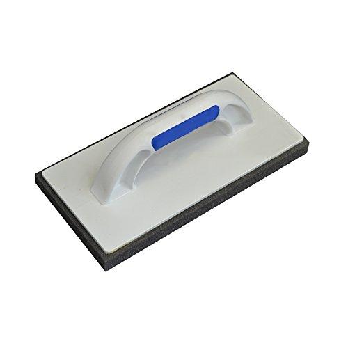 mit fein-poriger Schwammauflage 2-Komponenten Handgriff PS DEWEPRO/® Gl/ättscheibe - 280x140mm 20mm Reibebrett