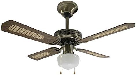 Rovex – Ventilador de techo Reversible verano invierno 106 cm con ...
