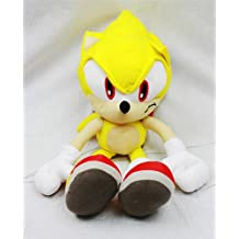 Sonic the Hedgehog Doll Plush Backpack - Super Sonic Yellow (24 Inch)