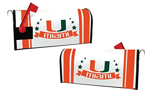 Miami Hurricanes Magnetic Mailbox Cover by R and R Imports