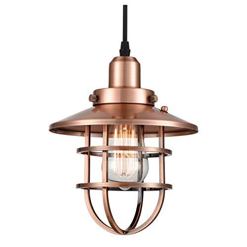 Copper Light Pendant in US - 1