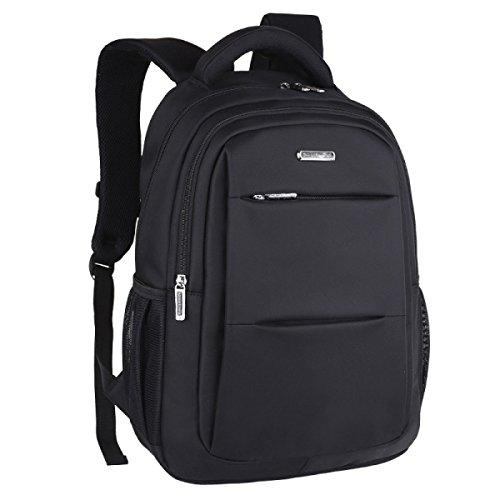 Business Men Backpack 15.6 Laptop Bag Mochila De Viaje Black
