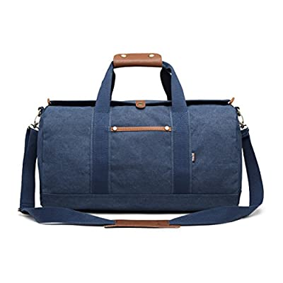 durable service Overnight Bag Weekend Weekender Bag Canvas Duffle Bag  Vintage Carry on Duffel Travel Bags 7e4aee937444f