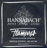 CUERDAS GUITARRA FLAMENCA - Hannabach (827/MT) Negra (Juego Completo)