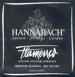 Cuerdas guitarra flamenca - Hannabach (827/MT) negra (Juego ...