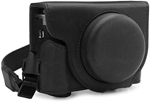 MegaGear MG1733 Ever Ready - Funda de Piel para cámara Canon PowerShot G7 X Mark III, Color Negro: Amazon.es: Electrónica