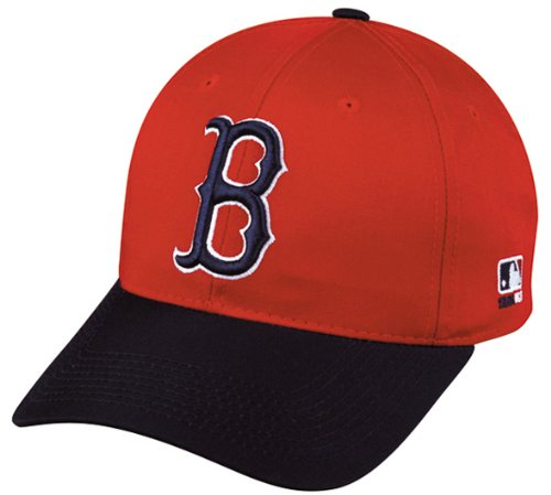 Boston Red Sox Adult Cooperstown Throwback Retro Officially Licensed MLB Adjustable Velcro Baseball Hat Ball Cap