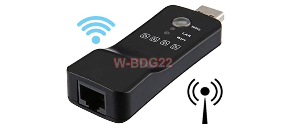 Wi-Fi Booster Repeater Premium Wi-Fi to Ethernet Bridge Adapter Access Point