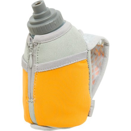 Cheap Nathan Thermal Quickshot Handheld Hydration with 10oz Bottle: Orange