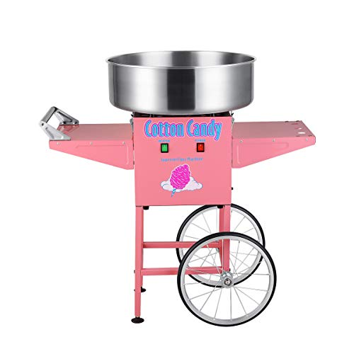 Superior Popcorn Company 82-P088 Superior Popcorn Cotton Candy Machine Floss Maker With Cart