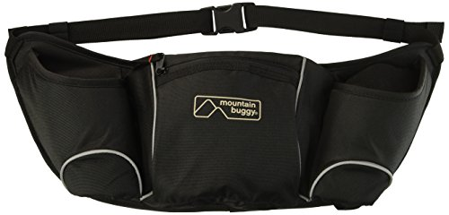 Single Buggy Bag - Mountain Buggy Storage Pouch and Hang Bag, Black